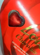 Sevgililer Günü Elit Kalp Çikolata 10 Adet 17x19 Cm-3