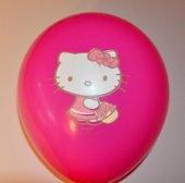 Hello Kity Karışık Renk Balon 50 Adet
