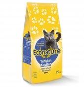 Econature Balıklı Yetişkin Kedi Maması 15kg