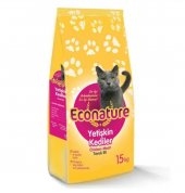 Econature Tavuklu Yetişkin Kedi Maması 15kg