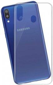 Samsung Galaxy M20 Ultra İnce Şeffaf Silikon Kılıf