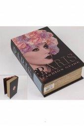 Paris Kitap Şek Deri Kutu 27X18Cm