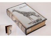 Zürafa Kitap Şek Aynalı Kutu 33x22cm
