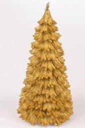 Gold Çam Mum 17cm