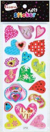 Ticon 138054 Sticker Puffy Tps 17