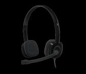 Logıtech H151 Stereo Mıkrofonlu Tek Jak...