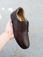 New Prato Erkek Ayakkabı 1456 Kahve Antik Deri