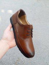 New Prato Erkek Ayakkabı 1456 Taba Antik Deri