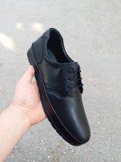 New Prato Erkek Ayakkabı 1456 Siyah Antik Deri