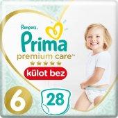 Prima Premium Care Külot Bebek Bezi 6 Beden 28 Adet