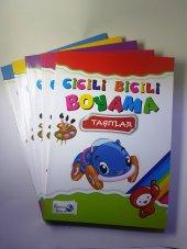 Karaca Cicili Bicili Boyama Kitabı 5li Set