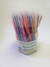 Ark Renkli Tükenmez Kalem 50li