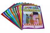 Karaca Boyama Gezegeni 10lu Boyama Kitabı Set