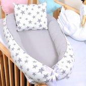 Babynest Bebek Beşikleri Yatağı Anne Yanı Uyku Seti BYG158