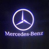 Mercedes E Serisi 2009-2016 W212 Kapı Altı Led Logo Aydınlatma-2