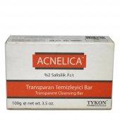 Acnelica Transparan Temizleyici Bar Sabun 2 Salisilik Asit