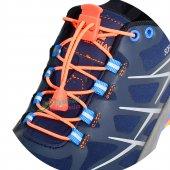 Akıllı Kilitli Elastik Ayakkabı Bağcık 100 Cm...
