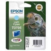 Epson T0795-C13T07954020 Açık Mavi Orjinal Kartuş-3
