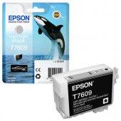 Epson T7609-C13T76094010 Açık Açık Siyah Orjinal Kartuş-2