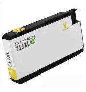 Hp 711XL-CZ132A Sarı Muadil Kartuş-2