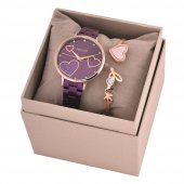 Ferrucci Fc12701m.04 Kadın Kol Saati Bileklik Takı Seti
