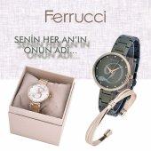 Ferrucci Kişiye Özel G Harfi Kadın Kol Saati Bileklik Takı Seti-2