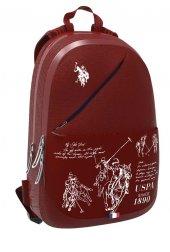 U.s. Polo Assn. Plçan8180 Sırt Çantası Bordo