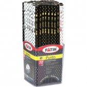 Fatih Siyah Lata Punto(Nokta) Kurşun Kalem 72li Paket