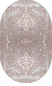 Homex Dijital Saçaklı Oval Halı 1016b 50x80 Cm