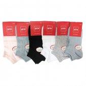 şirin Renkli Kadın Kısa Patik Çorap Asorti 6 Lı Paket