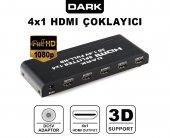 Dark Dk Hd Sp4x1 Full Hd 1 Giriş 4 Port Hdmı Split