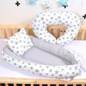 Babynest Bebek Beşikleri Yatağı Anne Yanı Emzirme Yastığı Hediye
