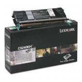 Lexmark C524-C5240KH Siyah Orjinal Toner Yüksek Kapasiteli