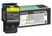 Lexmark C544-C544X1YG Sarı Orjinal Toner Extra Yüksek Kapasiteli