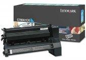 Lexmark C780-C780A1YG Sarı Orjinal Toner