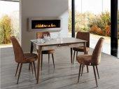ALWAYSSTAR 672 Modern Tasarım Dekoratif Mutfak Masa Takımı-5