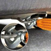 Oto Çekme Halatı Araç Çeki Halatı 3 Metre 3 Ton Kapasite Sarı-2