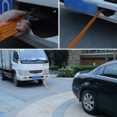 Oto Çekme Halatı Araç Çeki Halatı 3 Metre 3 Ton Kapasite Sarı-3