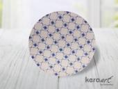 Keramika Ege Pasta Tabağı 20cm Mat Transparan Beya...