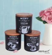 Keramika Ege 3 Parça Saklama Kabı 12cm-2