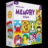 Hafıza Oyunu Eşleştirme Kartları 48 Parça Hayvanla...