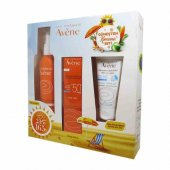 Avene Sun Spray Spf50 200ml + Fluide Spf50+ After Sun Hediyeli