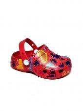 Akınal Bella E209 Çocuk Kalpli Havuz Deniz Terlik Sandalet