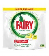 Fairy Hepsi Bir Arada Bulaşık Makinesi Deterjanı Kapsülü 100 Yıkama