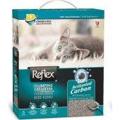 Reflex Aktif Karbonlu Topaklanan Kedi Kumu 6 Lt