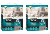Reflex Aktif Karbonlu Topaklanan Kedi Kumu 6 Lt x 2 Ad