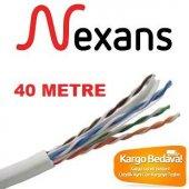 Nexans Cat 6 Network Kablosu Tam Bakır (40 Metre)