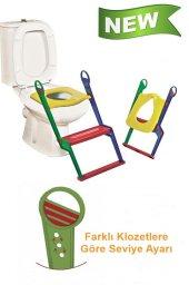 Çocuk Adaptörlü Klozet Kapağı Moonstar Tuvalet Eğitici Alıştırıcı