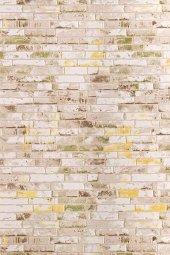 Karışık Renk Tuğla Desen Salon Halısı - HS91604V-3