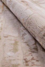 Karışık Renk Tuğla Desen Salon Halısı - HS91604V-4